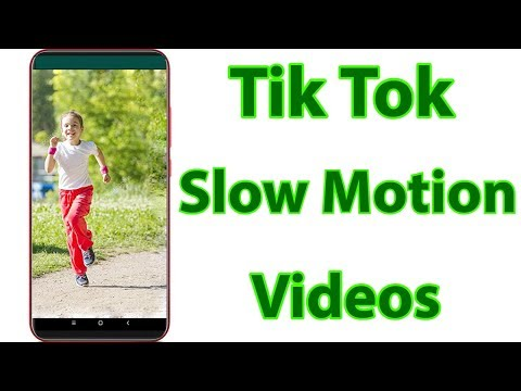 How To Make Slow Motion Tik Tok Video(Musically) & Create Dance,Running Videos Without Any App