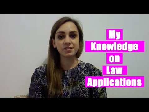 Lena ep.2 - My Knowledge on Law Applications | The Great Grad Job Hunt