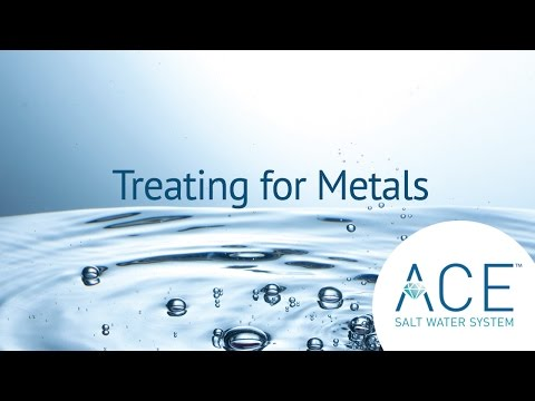 Treating for Metals With Your Hot Spring Spa ACE System