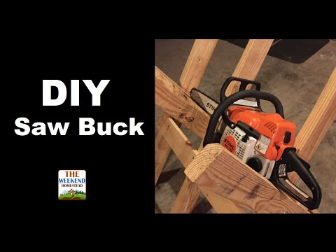 Building a SAWBUCK for the Homestead