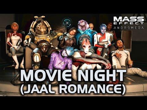 Mass Effect Andromeda - Movie Night (Jaal Romance)