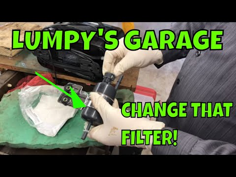 How To Replace a Fuel Filter on a 99-04 Jeep Grand Cherokee