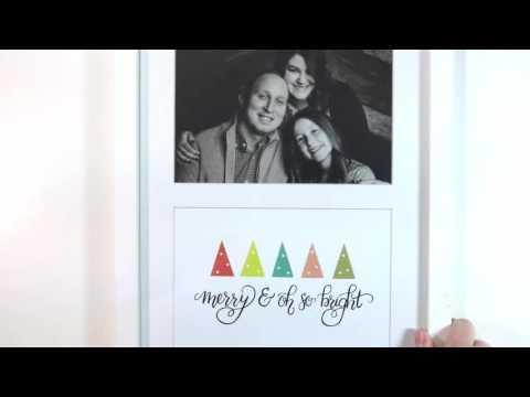 New Christmas Card Printables!