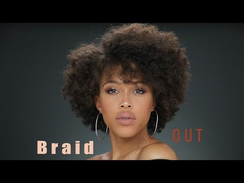 How to: Braid Out on Short Hair
