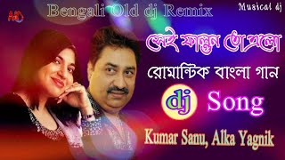 Sei Falgun To Ello dj/// Bangla Old Romantic Song | Musical dj Mix //Kumar Sanu & Alka Yagnik