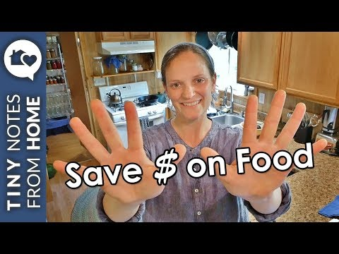 10 Ways to Save MONEY on FOOD