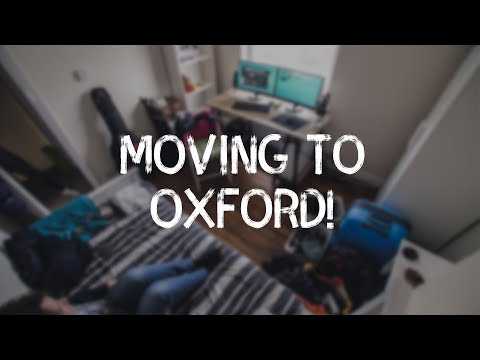 Moving to Oxford!
