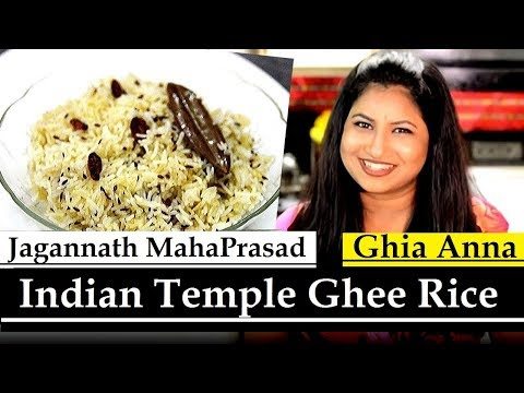 Lord Jagannath's Maha prasada | Jagannath Puri Temple Ghee Anna | Ghee Rice Recipe