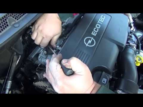 how to clean and change MAP sensor - opel astra j 1.7 cdti 81kw 110hp