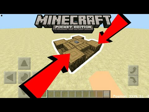 Minecraft PE | How To Make a Stopping Machine! | Command Block creation