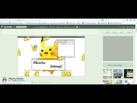 How to Download a Shimeji