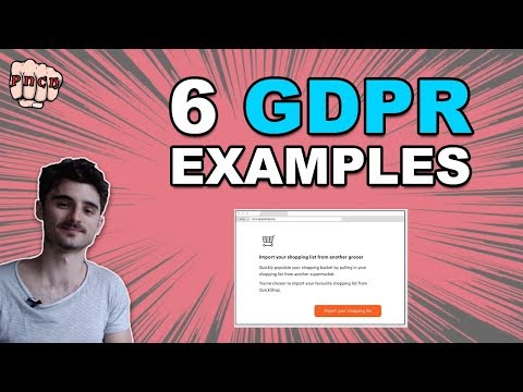 6 GDPR Compliance examples - GDPR Example