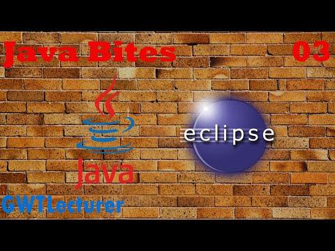 Java Tutorial - 03 - Reading Keyboard Input in Java using Scanner