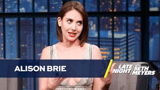 Alison Brie Pumped Gas in Compton Dressed as a Clown