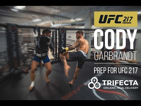 Cody 'No Love' Garbrandt's UFC 217 Preparation -- behind the scenes with Trifecta