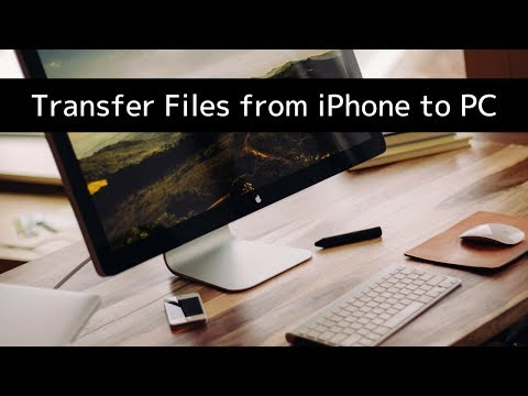 How To Transfer Files Between iPhone or iPad and PC or Mac Computer
