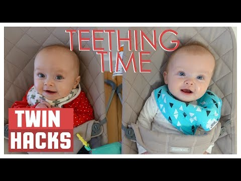 HOW TO HELP A TEETHING BABY! | Twin Hacks