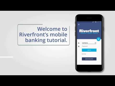 How to make a mobile deposit using our mobile app.