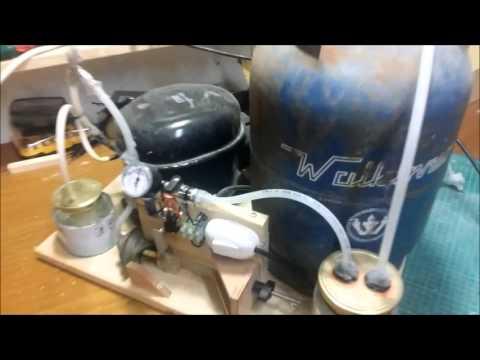 DIY Vacuum bagging Pump