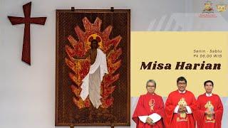 Misa Harian Biasa XV Rabu, 15 Juli 2020 pkl 06.00