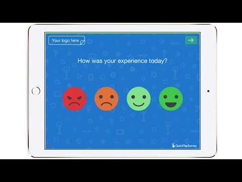 Happy or Not Customer Satisfaction Survey Template - QuickTapSurvey