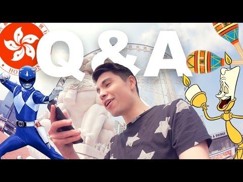 VLOG: Fan Q&A in HONG KONG!!!