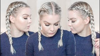 Download How To Dutch Braid Your Own Hair For Beginners | EverydayHairInspiration Video