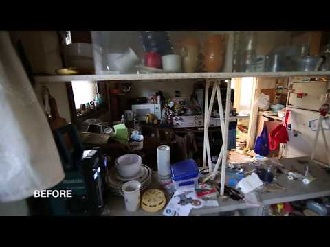 BEFORE + AFTER! Hoarder Clean Up, House Flip + Declutter