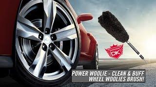 Power Woolie Cleaning & Buffing Wheel Brush - Detail King