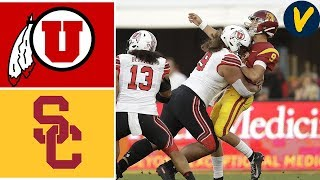 Download Week 4 2019 #10 Utah vs USC College Football Full Game Highlights 9/20/2019 Video