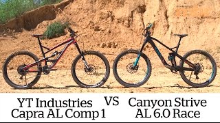 Canyon Strive vs YT Capra AL 1 review | MBR