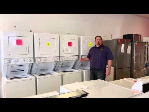 Laundry Center - Washer/Dryer Stack Units at Appliance & Mattress Discounters
