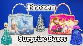 Download Elsa and Anna Funny Surprise Lunch Boxes with the Assistant