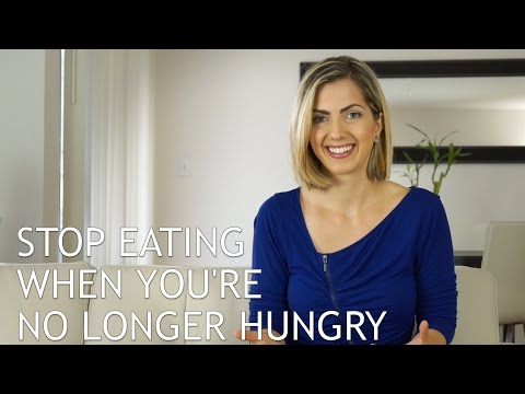 How To Stop Eating When You Cannot Make Yourself Stop Eating