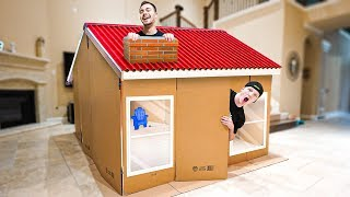 LAST TO LEAVE THE CARDBOARD HOUSE CHALLENGE!