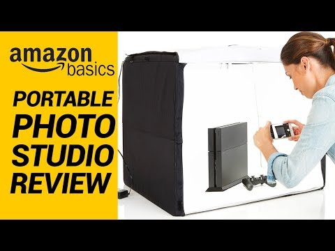 Amazonbasics Portable Photo Studio Unboxing and Review | Ebay Seller Photography Setup