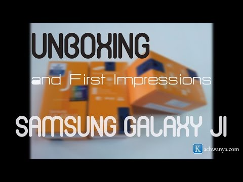 Samsung Galaxy J1 Unboxing - Kenyan Review