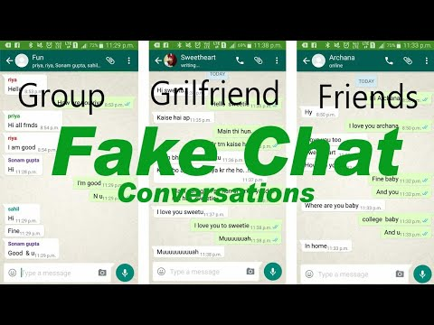 New WhatsApp Prank 2108 Make Fake WhatsApp Chats With Girls & Enjoy Prank WhatsApp Fake Chat Trick