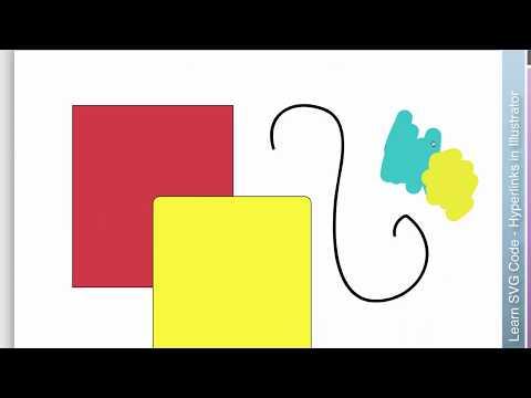 Learn SVG- Hyperlinks with Illustrator