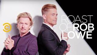 Roast of Rob Lowe - Behind the Scenes - Roaster Master David Spade Takes Aim