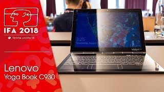 Lenovo Yoga Book C930 Hands-On at IFA 2018 - PakVim net HD