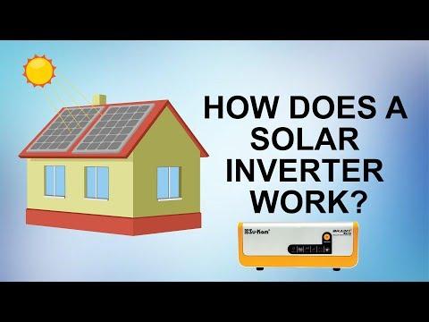 How does a Solar Off Grid Hybrid Inverter/Home UPS work?