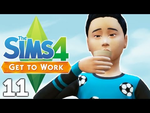 Let's Play The Sims 4 Get to Work - Part 11 - Treating Patients!