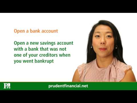 Re-establishing Your Credit After Bankruptcy (Video Blog)