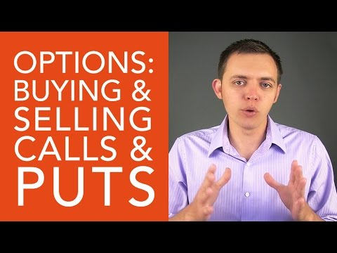 Stock Options: Difference in Buying and Selling a Call or a Put