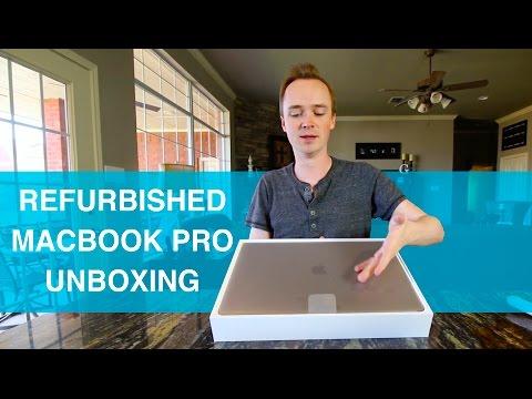 Refurbished MacBook Pro w/ Touchbar Unboxing