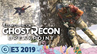 How Ghost Recon: Breakpoint Is A Hardcore Survival Shooter   E3 2019