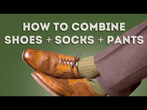 How To Combine Men's Socks, Shoes & Pants - Compliments Guaranteed