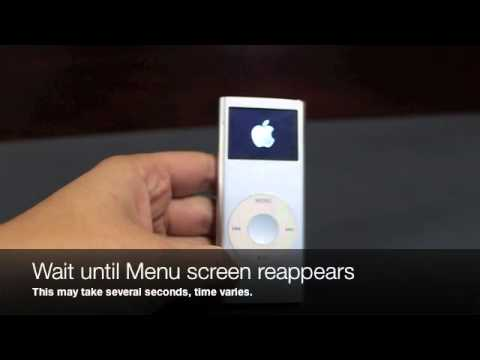 How to Restart iPod Nano (2nd Generation)