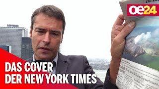 Media Show: Das Cover der New York Times